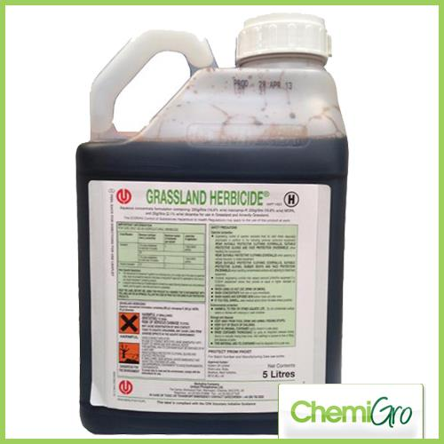 GRASSLAND HERBICDE, KILLS THE WEEDS AND NOT THE GRASS